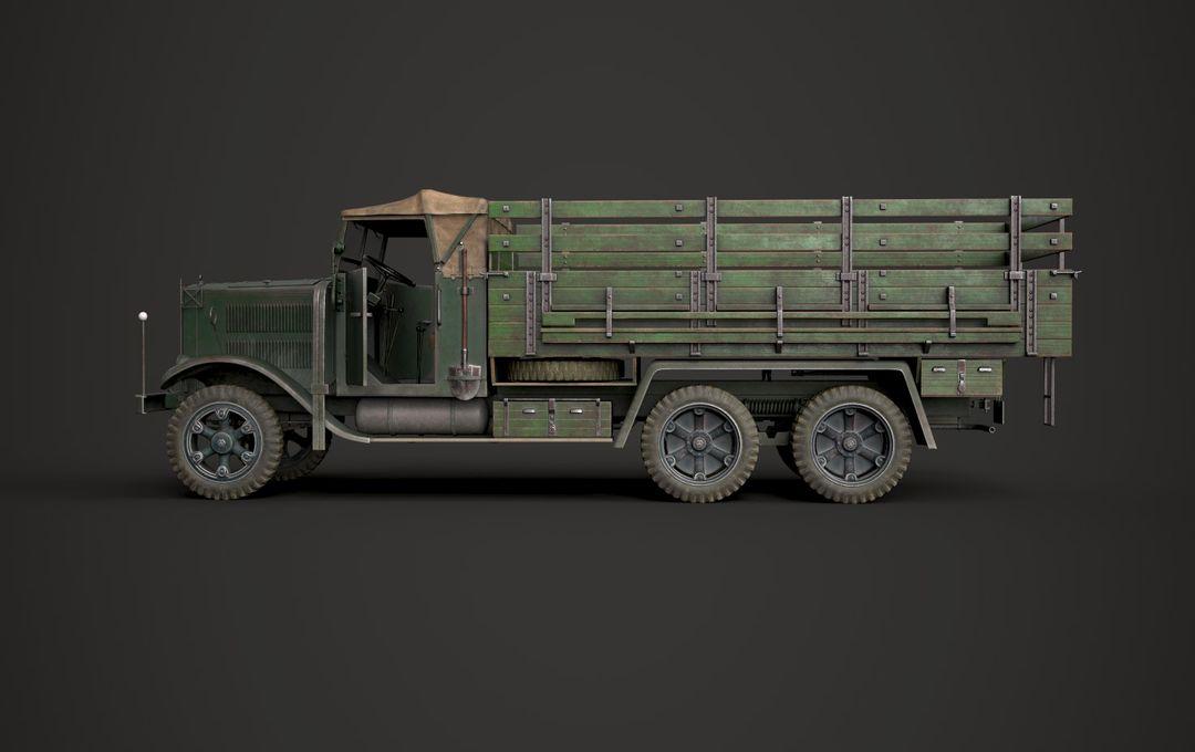 WW2 German Krupp L3H163 Truck 6 jpg