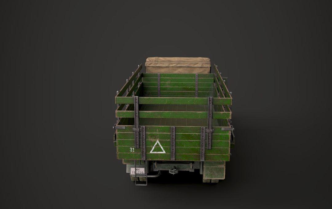 WW2 German Krupp L3H163 Truck 7 jpg