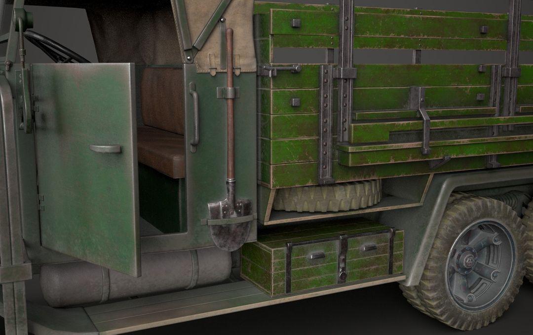 WW2 German Krupp L3H163 Truck 8 jpg
