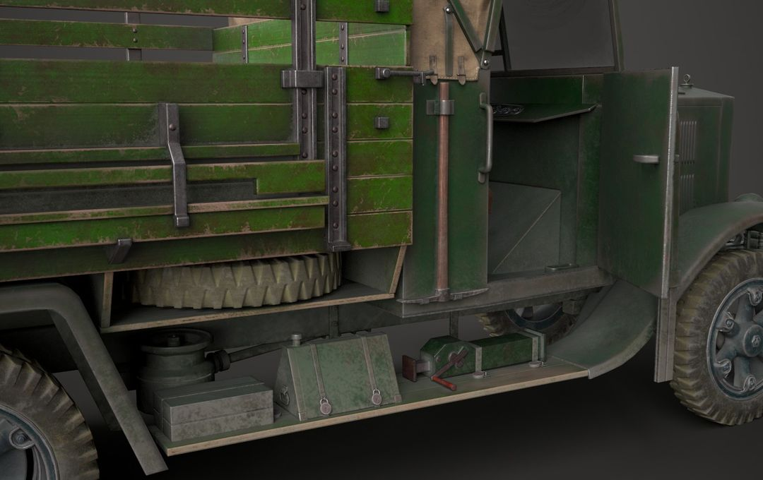 WW2 German Krupp L3H163 Truck 9 jpg