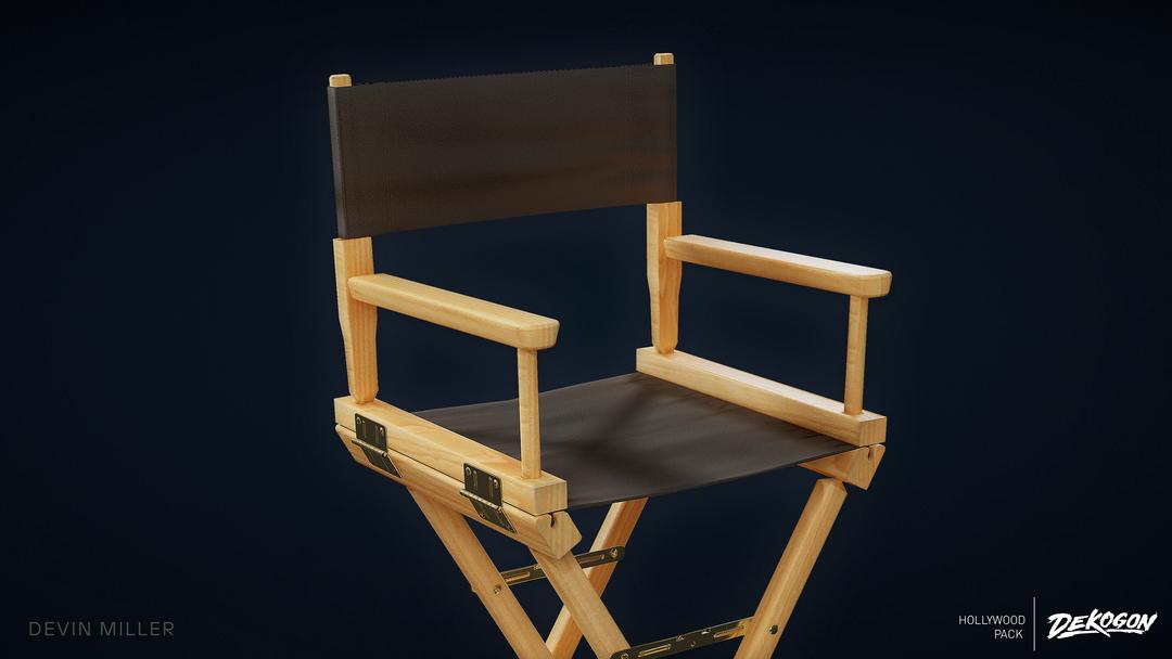 Production Chair - Dekogon Hollywood Pack - Season 2 01 png