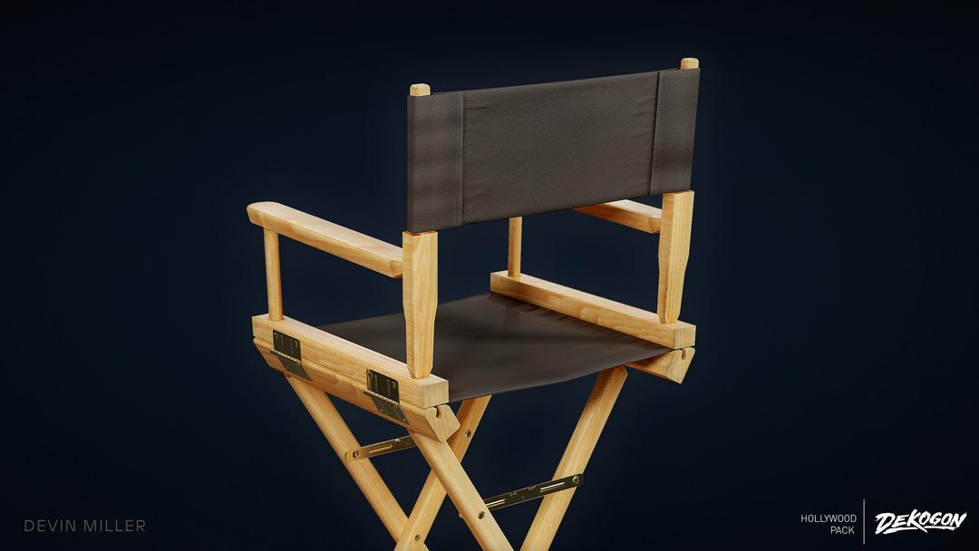 Production Chair - Dekogon Hollywood Pack - Season 2 02 png