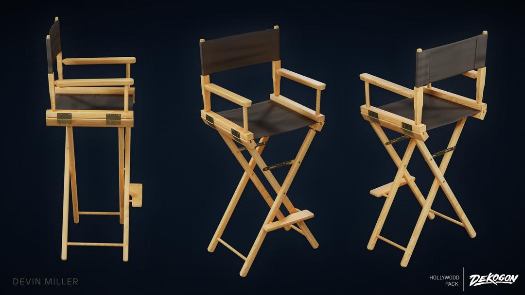 Production Chair - Dekogon Hollywood Pack - Season 2 03 png