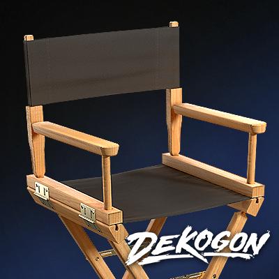 Production Chair - Dekogon Hollywood Pack - Season 2 DM artstationcover3 png