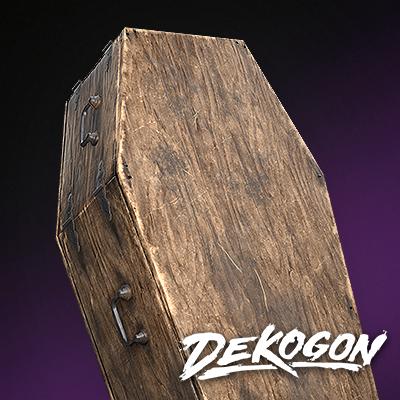 Closed Coffin - Dekogon Cemetery Pack - Season 2