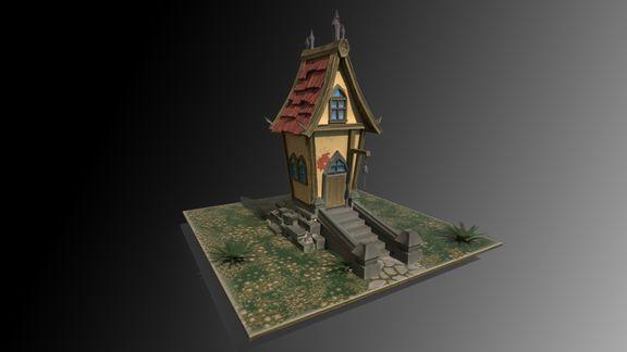 Stylized Village house