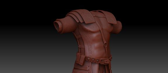 Armor Sculpted for Uni project