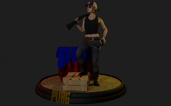 PUBG Mobile Character