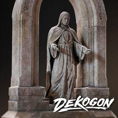 Gravestone Statue - Dekogon Cemetery Pack - Season 2