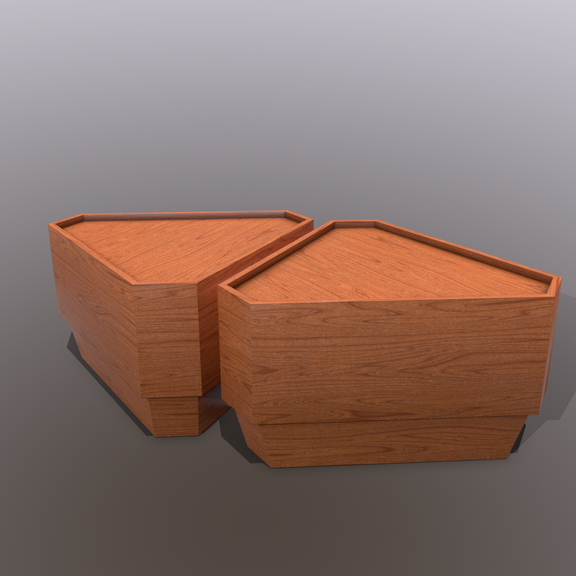 Coffee Tables ( Frank Lloyd Wright)
