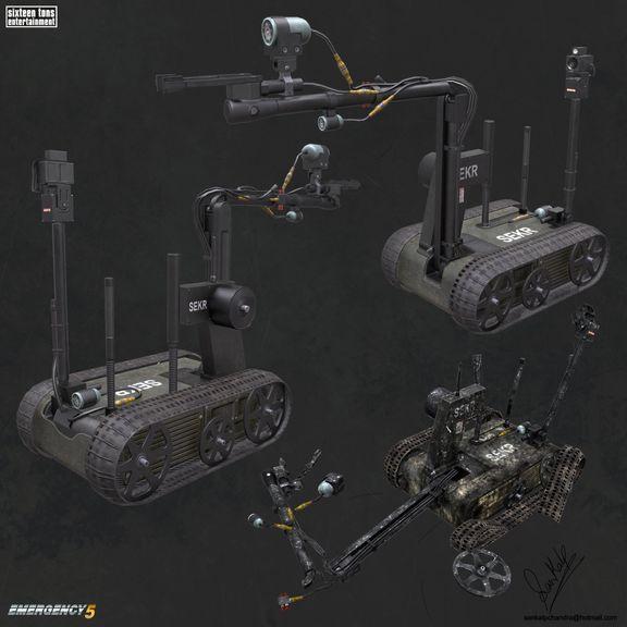 Emergency 5 Vehicle - SEK Bot