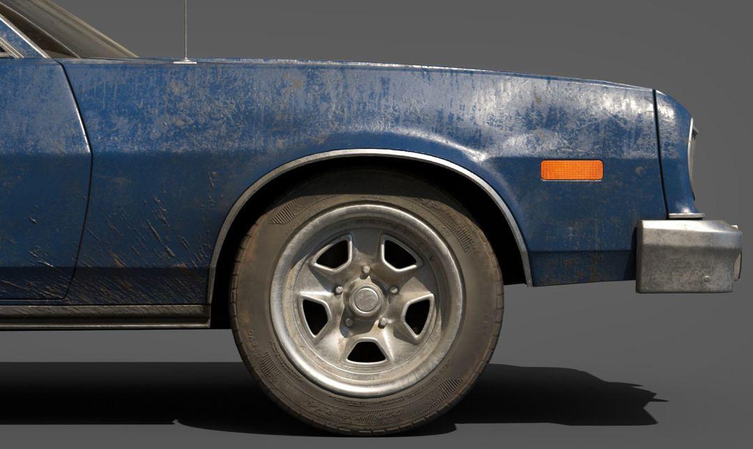 Ford Gran Torino Lowpoly Ford Gran Torino Lowpoly 04 jpg