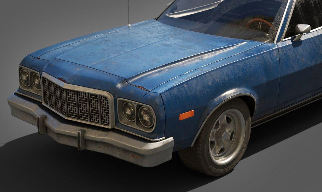 Ford Gran Torino Lowpoly Ford Gran Torino Lowpoly 07 jpg