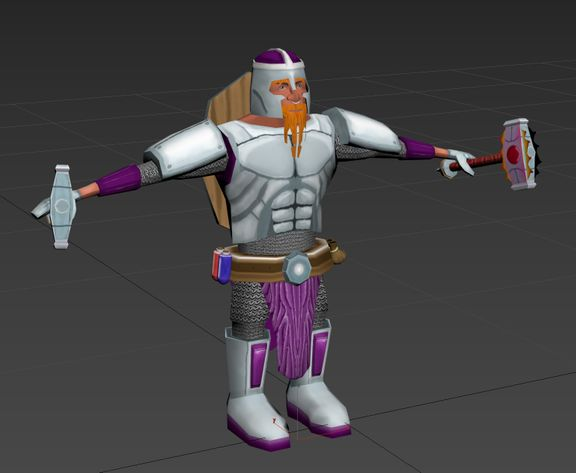 Stylised Game Ready Character