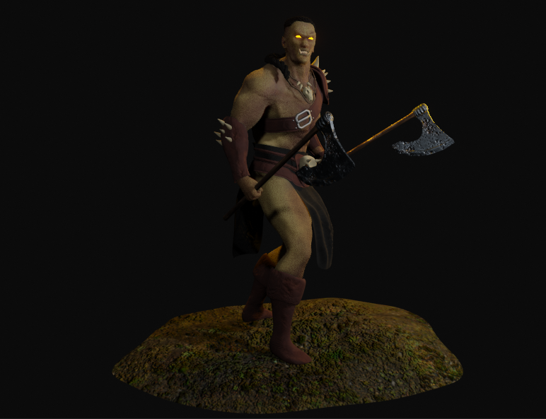Mountain ORC Orc 1 png