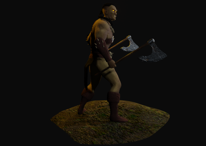Mountain ORC Orc 2 png