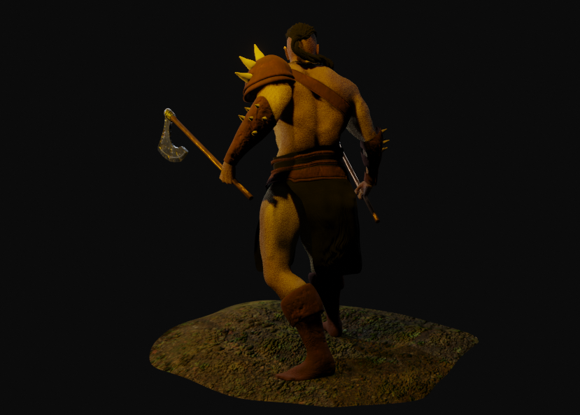 Mountain ORC Orc 4 png