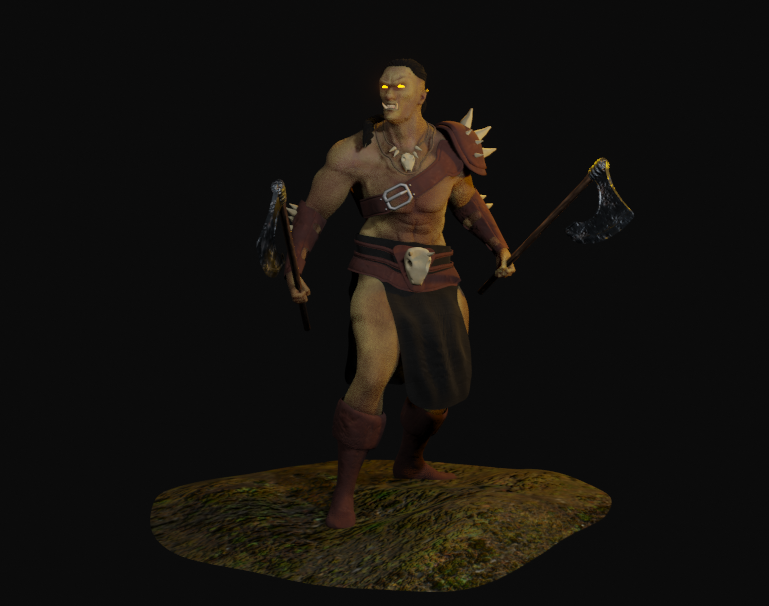 Mountain ORC Orc 5 png