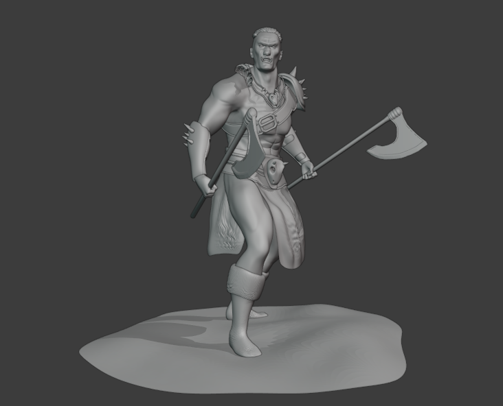 Mountain ORC Orc 7 png