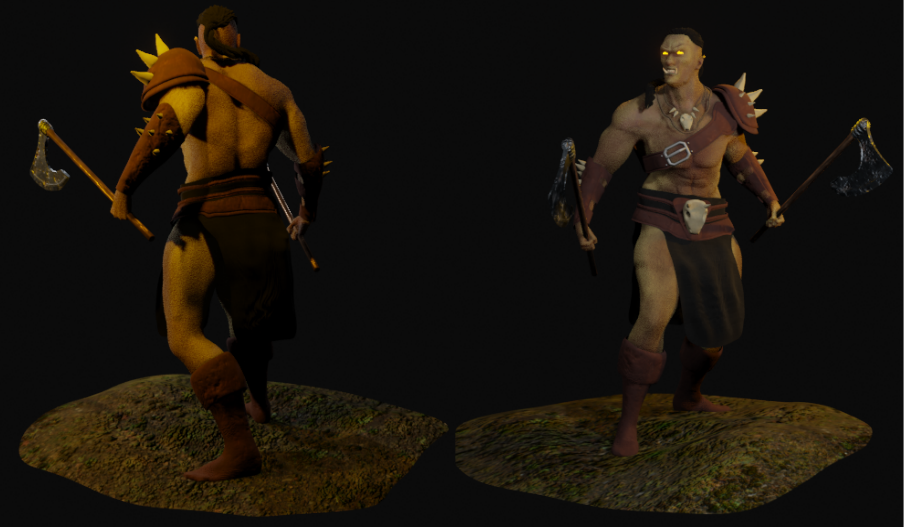 Mountain ORC Orc 9 png