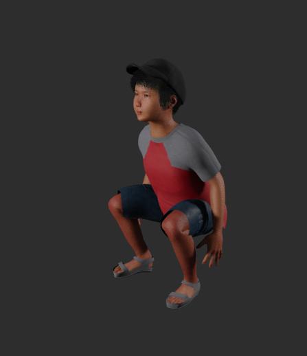 The Japanese Boy screenshot png