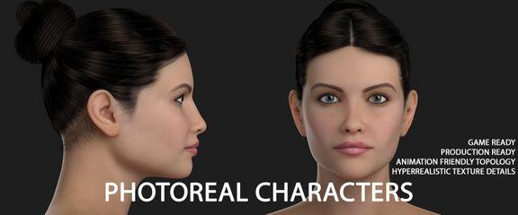 Hyper-Real Human Model