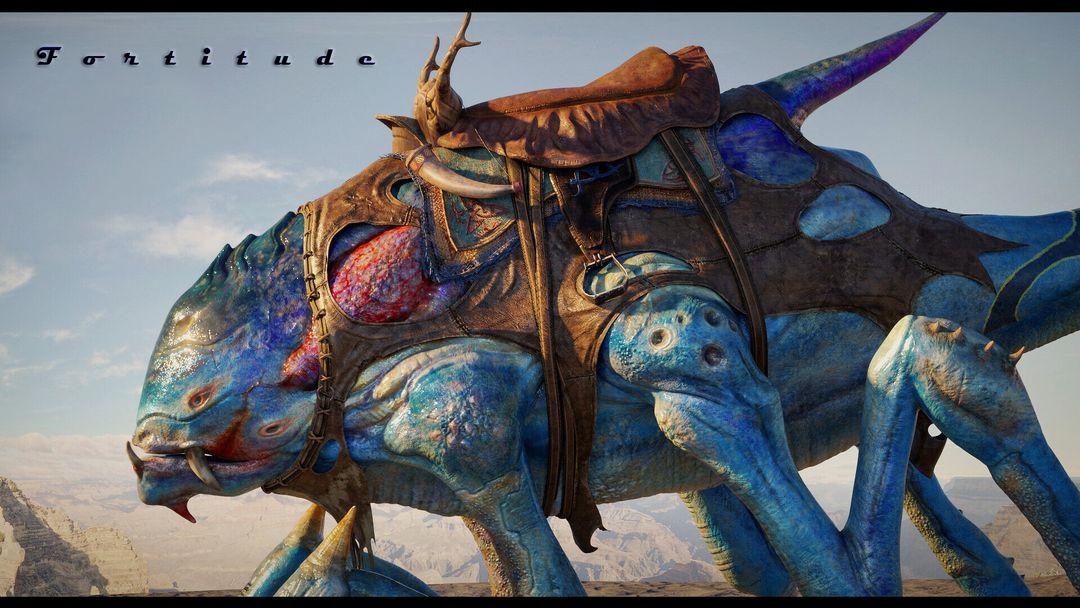 Fortitude - Creature koushik routh banner jpg