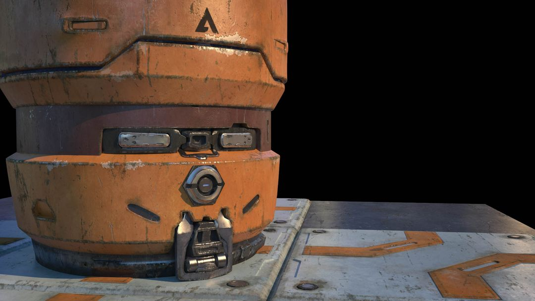 "Halo 5 ""Fan Art"" Barrel koushik routh halo 5 barrel lookdev v01 jpg"