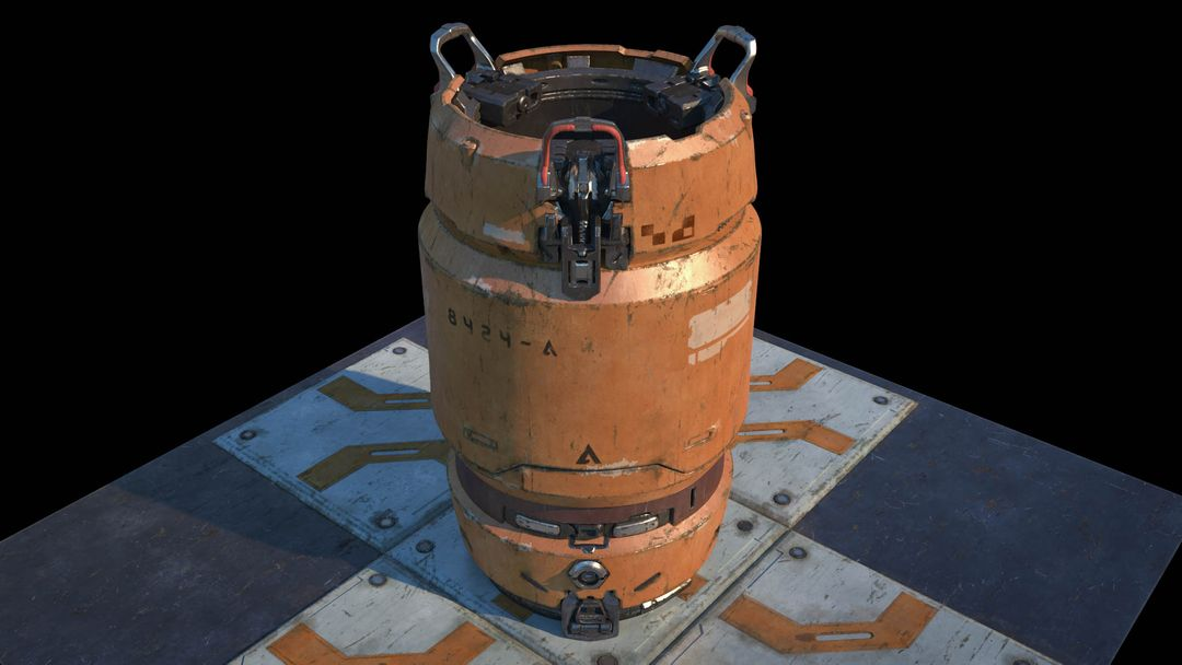 "Halo 5 ""Fan Art"" Barrel koushik routh halo 5 barrel lookdev v04 jpg"