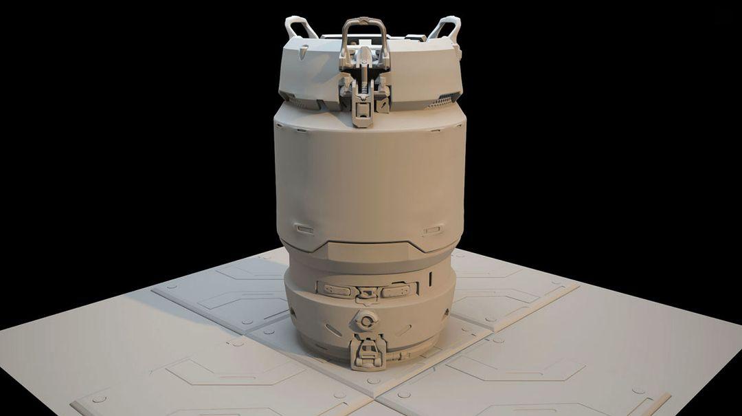 """Halo 5 """"Fan Art"""" Barrel koushik routh untitled 1 jpg"""