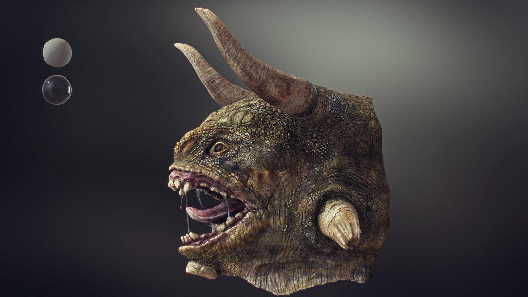 Stalker - Creature Bust koushik routh stalker side jpg