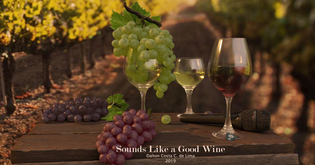 Music and Wine (anytime) dalton costa winetextured jpg