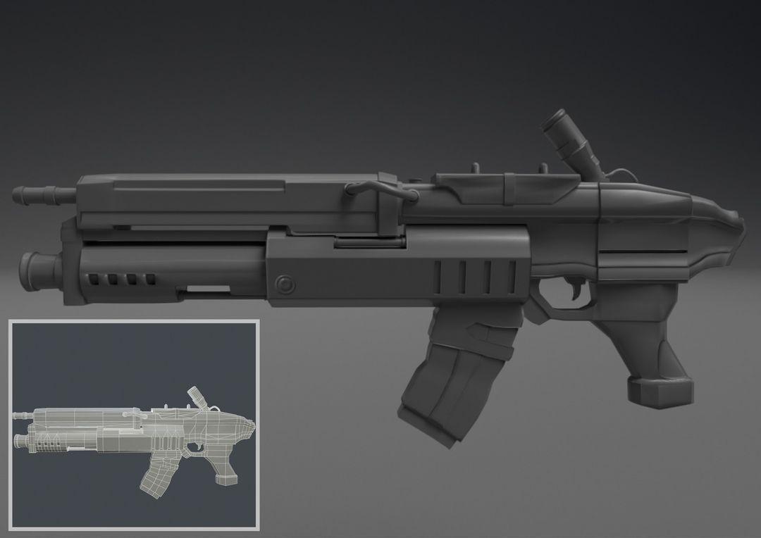 A.T.E.N.A Sci-Fi Gun dalton costa daltonscifi gun17 jpg