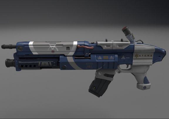 A.T.E.N.A Sci-Fi Gun
