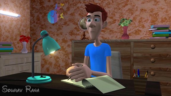 3D animation Acting .