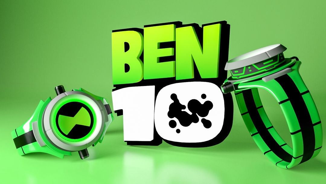 3D Products Modeling . Ben 10 Watch jpg