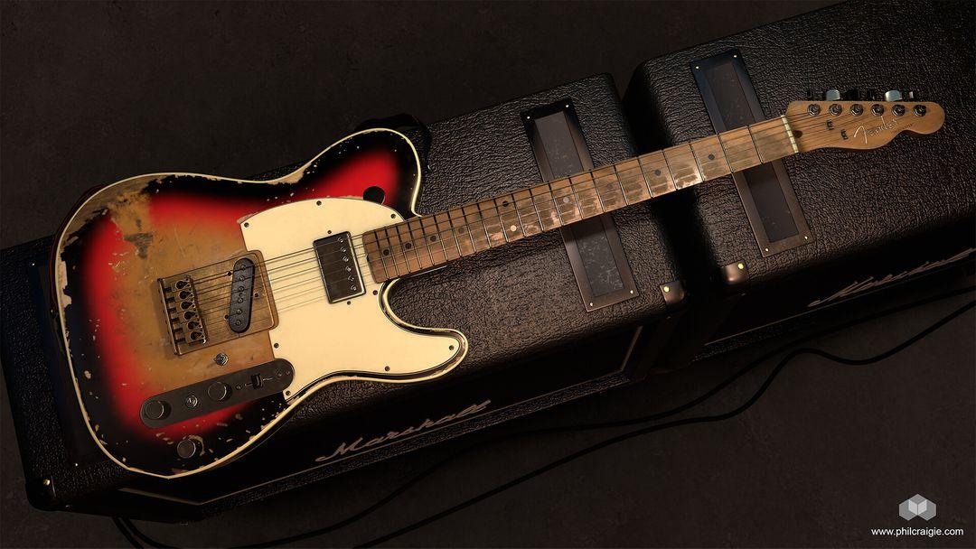 Andy Summers' 1961 Fender Telecaster Fender 01 jpg