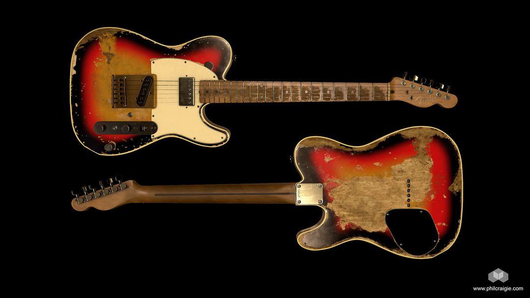 Andy Summers' 1961 Fender Telecaster Fender 04 jpg