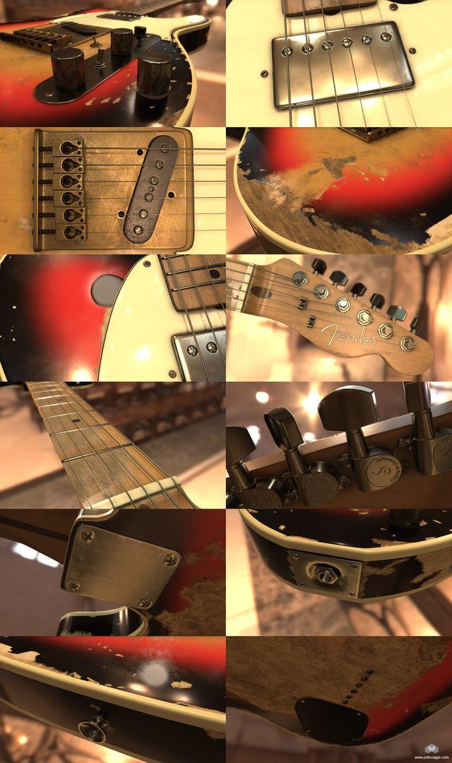 Andy Summers' 1961 Fender Telecaster Fender 05 jpg