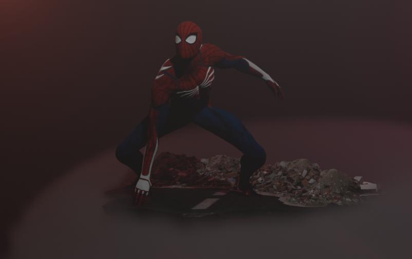 SPIDER MAN screenshot png