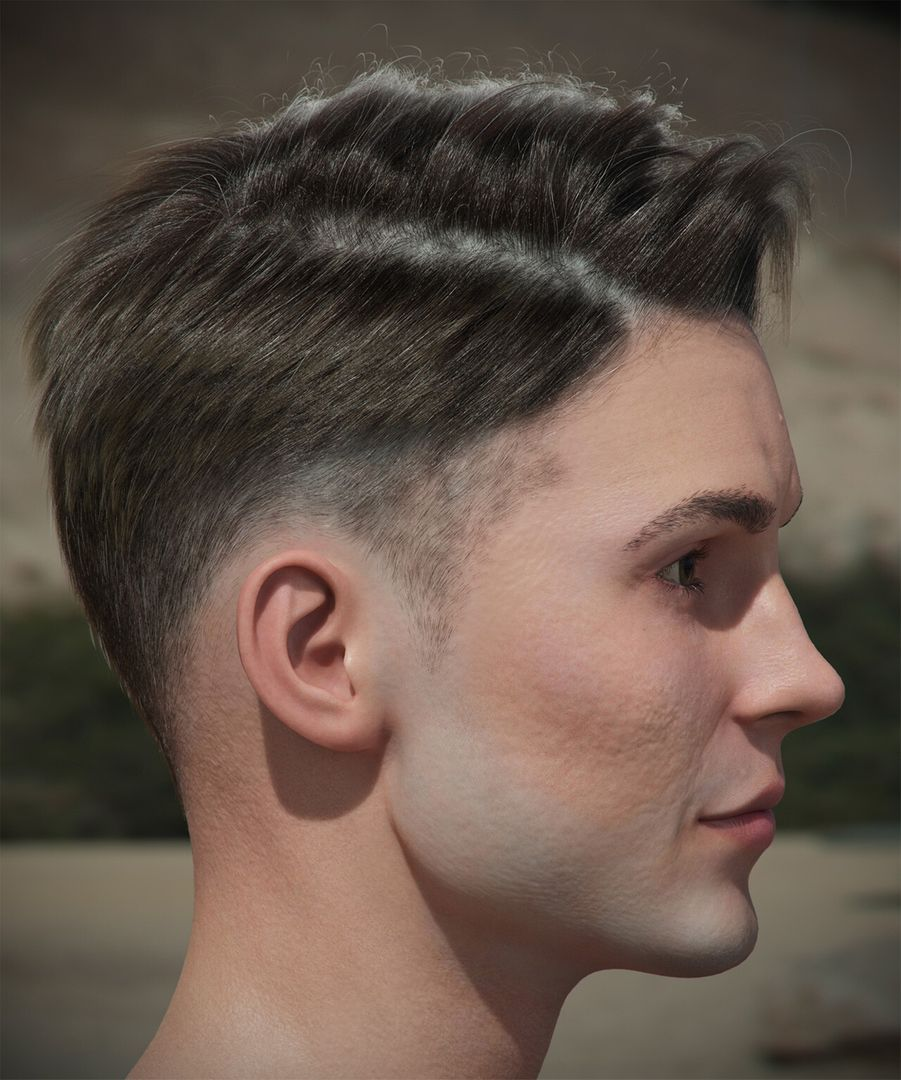 Hair #6 andrew krivulya genry haircut 1 by akcharly cam05 jpg