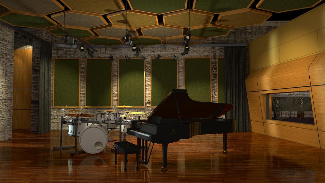 Recording studio concept directv music recording studio png