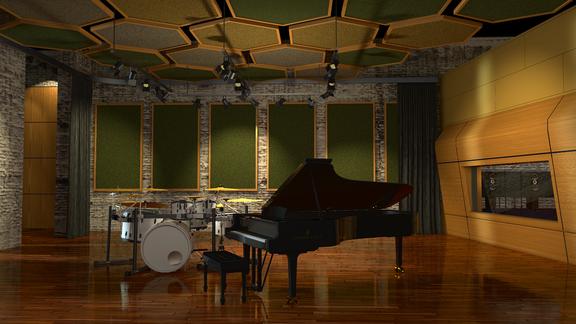 Recording studio concept
