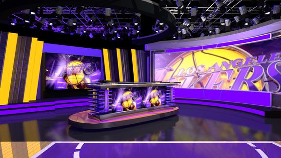 Sports show studio concept