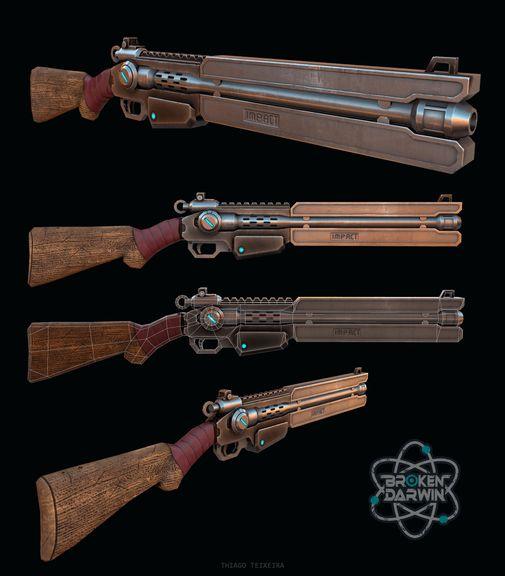 Gun - Broken Darwin