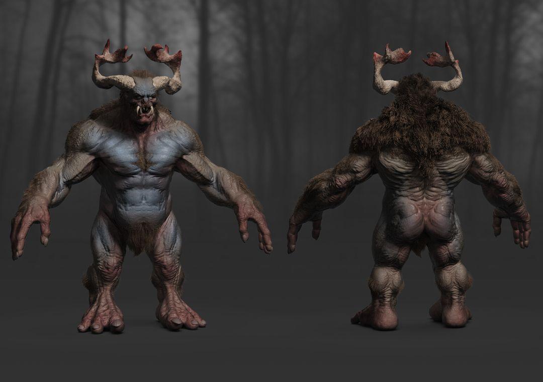 Creature Study Creature 02 jpg