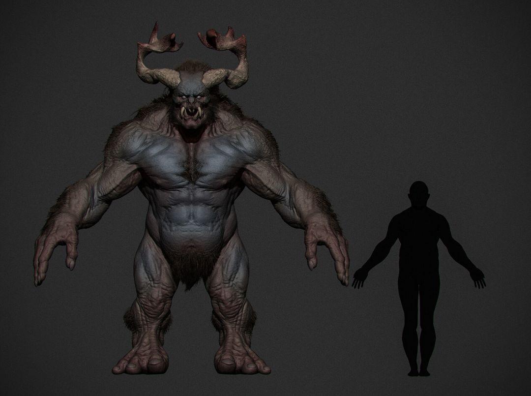 Creature Study Creature 03 jpg
