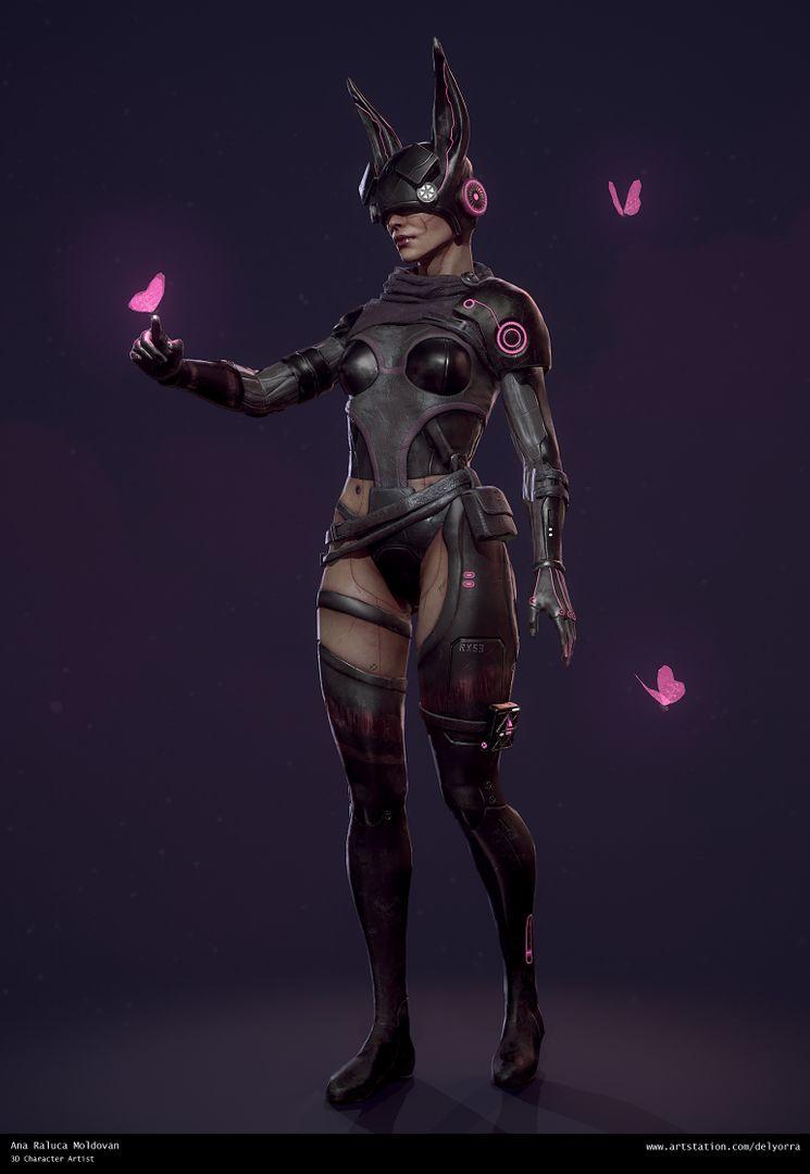 Sci-Fi Bunny Girl 1 jpg