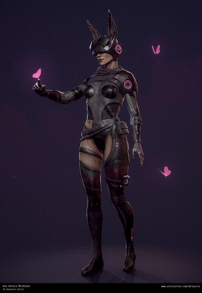 Sci-Fi Bunny Girl