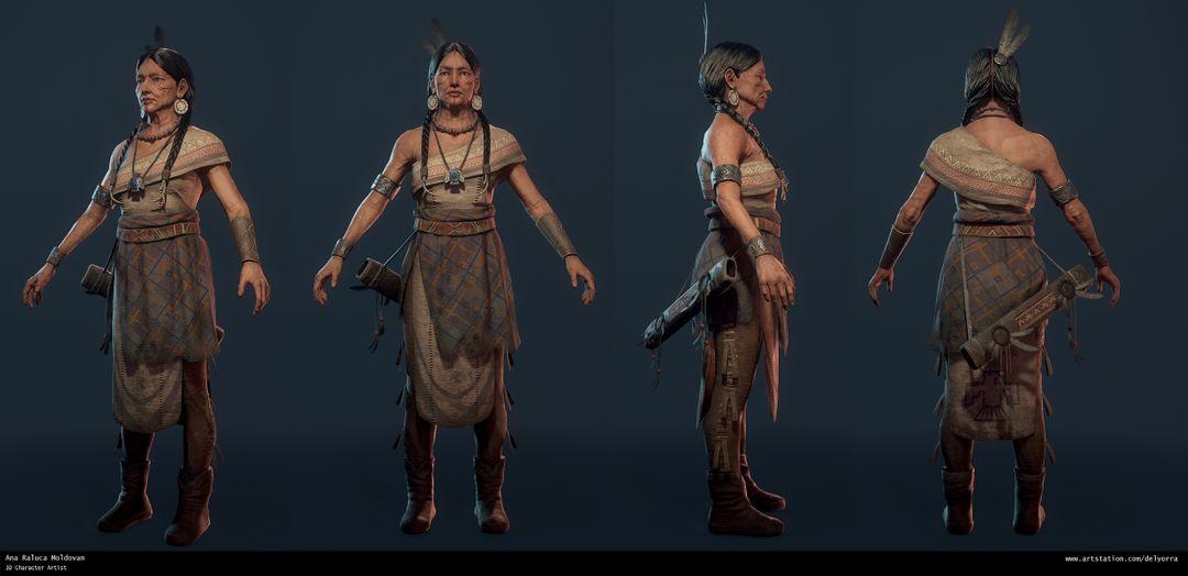 Hidatsa Warrior Turntable jpg